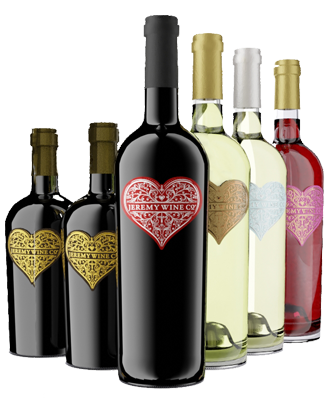Bottles of Sweet Jeremy Wines